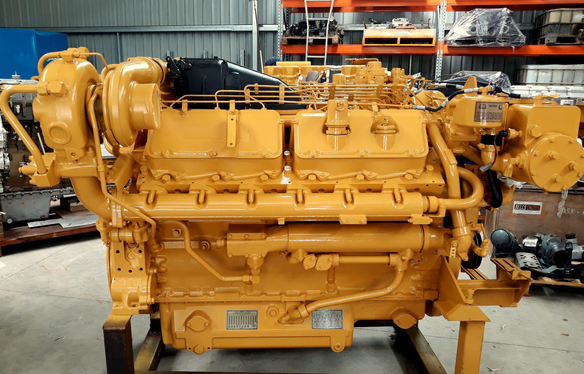 CAT 3412 Marine Engine