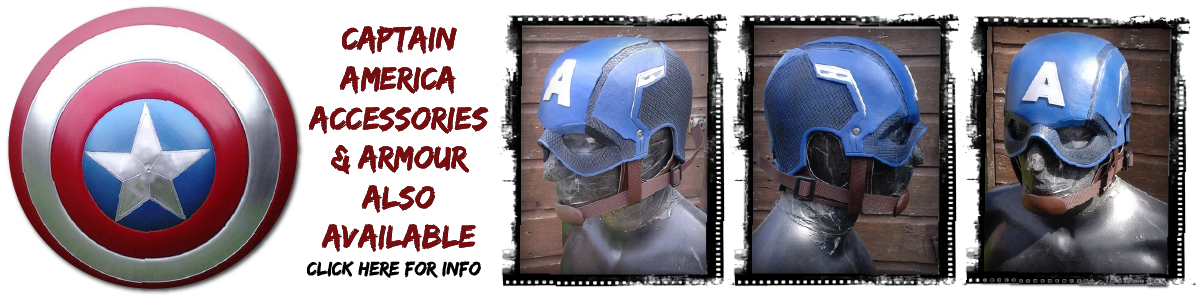 Captain America Helmet For Sale UK