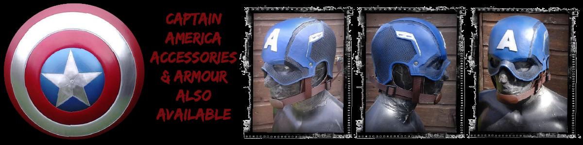 Captain America Helmet For Sale UK