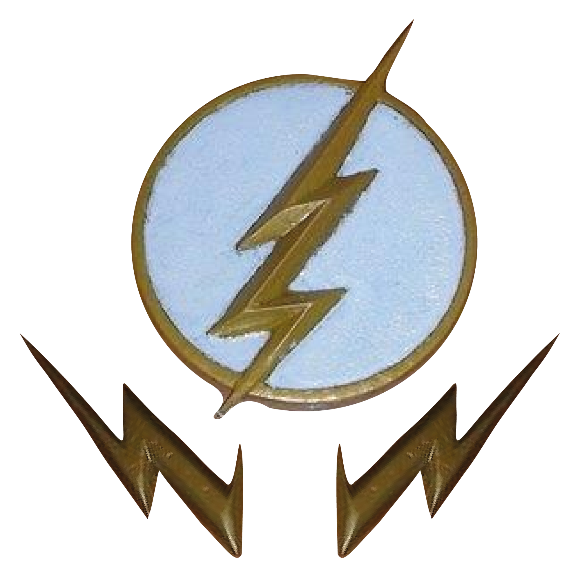 The Flash Badge & Eblem