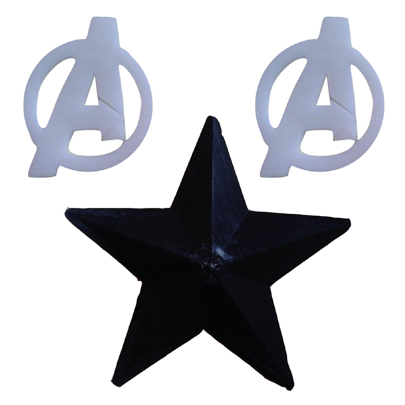 Avengers Cosplay Logo Design 3d Print