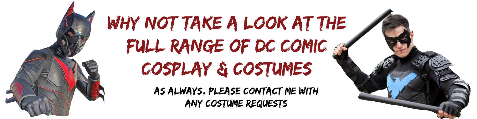 DC Comic Con Costumes & Accessories