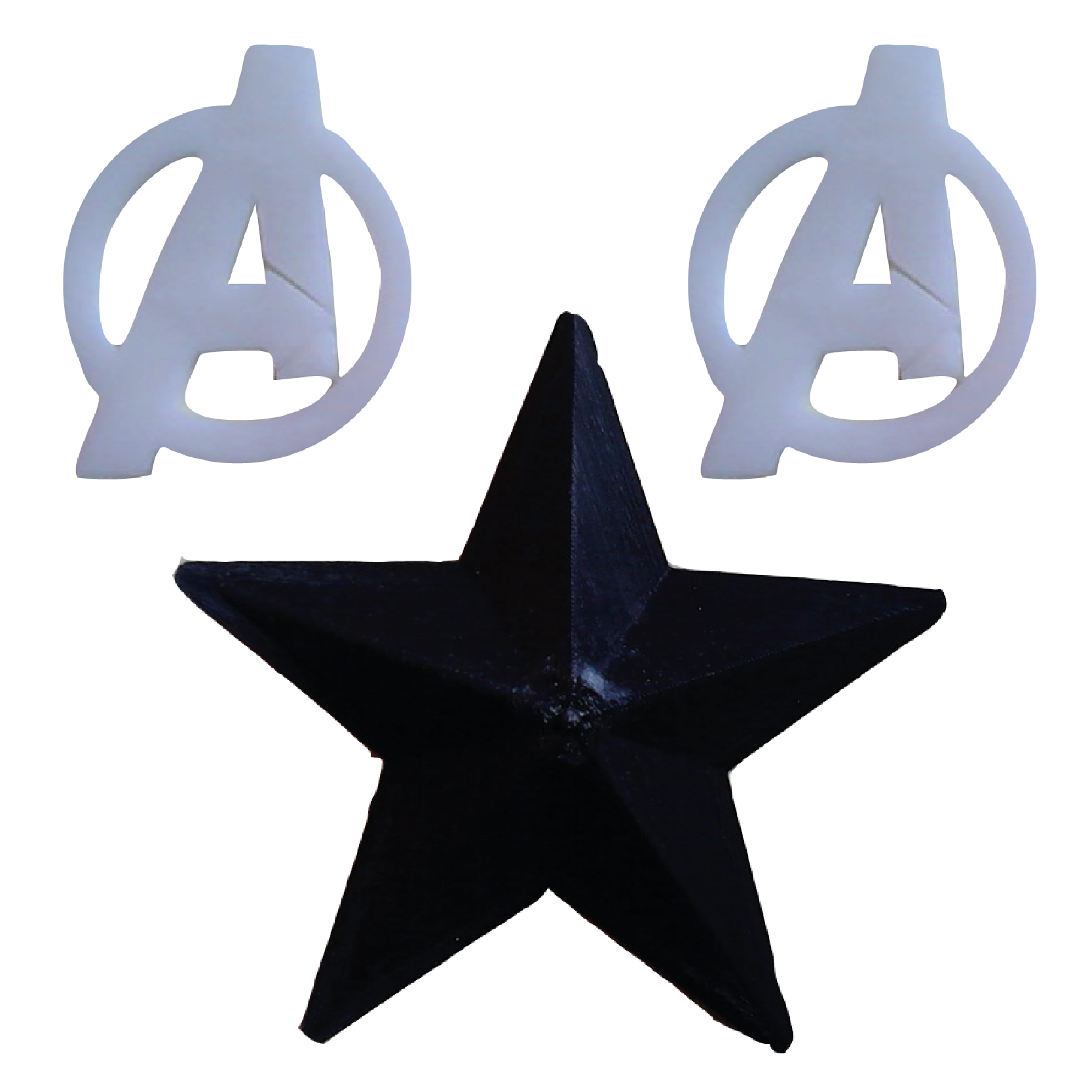 Avengers 3d print set