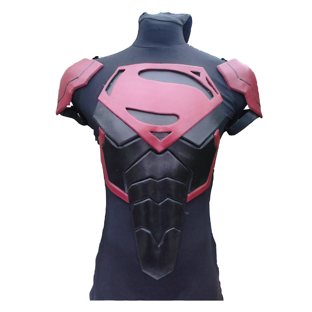Black Superman Foam Cosplay Costume