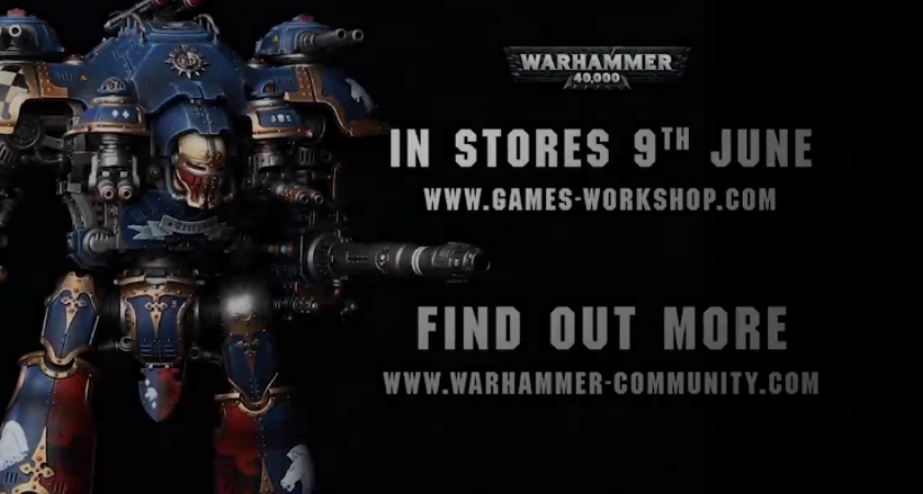 Games Workshop & Warhammer - Advert