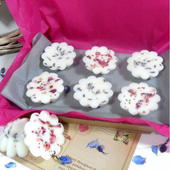 Mixed Scented Wax Daisy Tarts