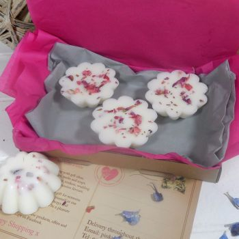 Miss Bouquet Scented Wax Daisy Tarts