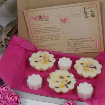 Sweet Orange Melts and Yuletide Aroma Wax Daisy Tarts