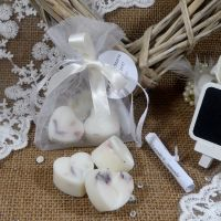 Wedding favours white bags 3