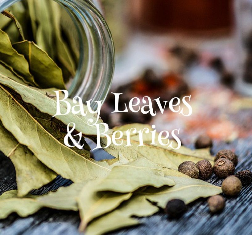 Bay Leaves and Berries Melts