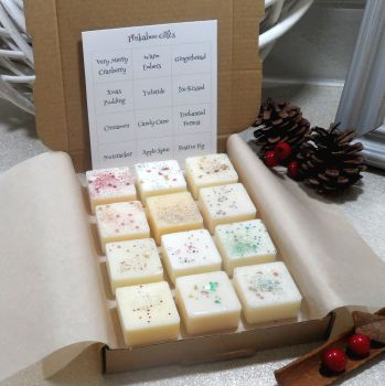 Selection Box  with Festive Scented Wax Melts (A)