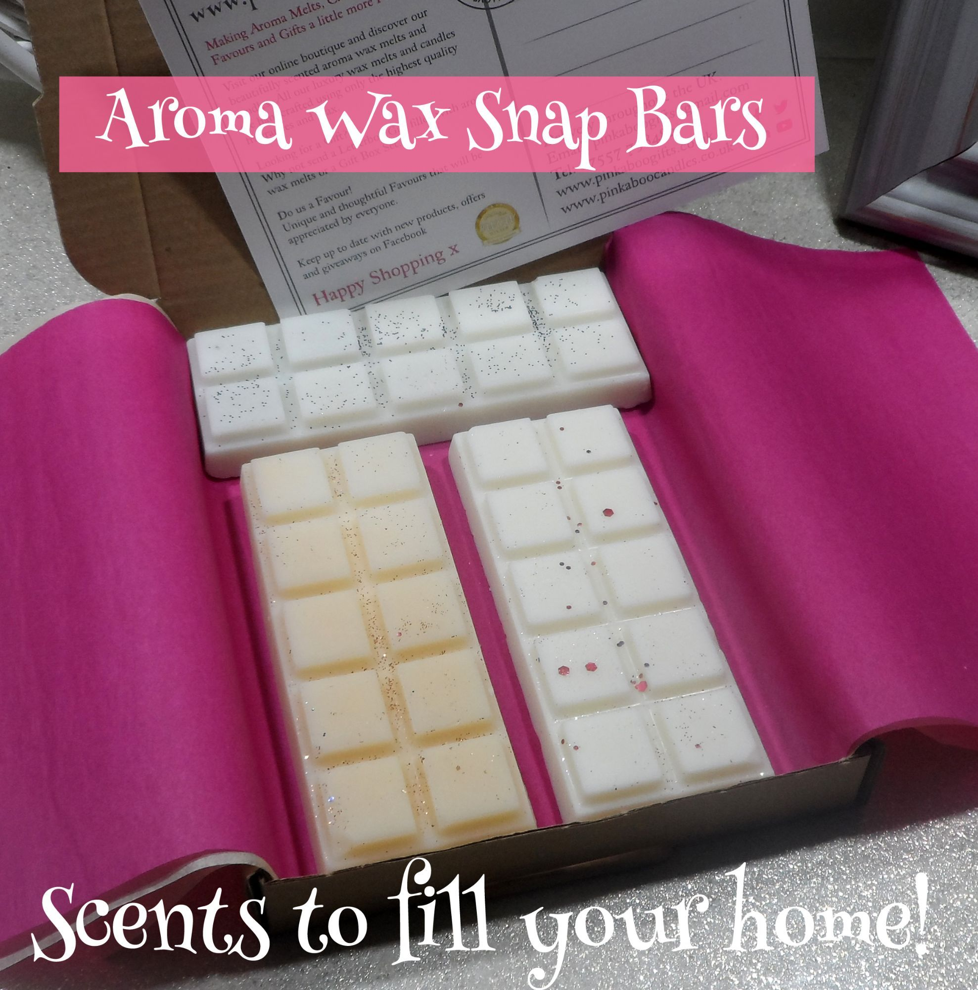 Wax Scented Slab Bars