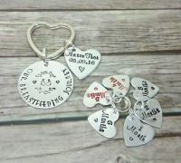 Additional Tags For Breastfeeding Keyrings