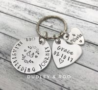 Our Breastfeeding Journey Commemorative Keyring