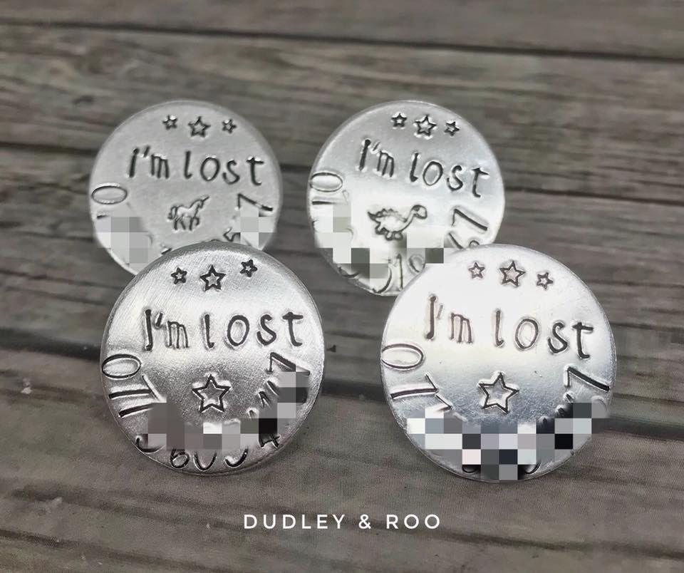 Child's I'm Lost Badge