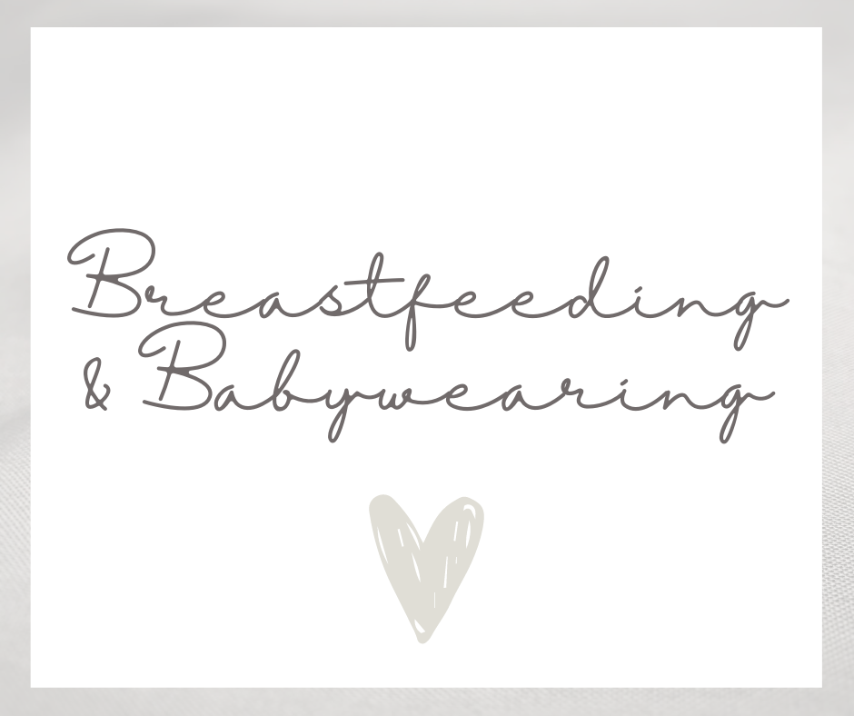 Breastfeeding & Babywearing Items
