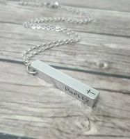 Bar Necklace (3D)