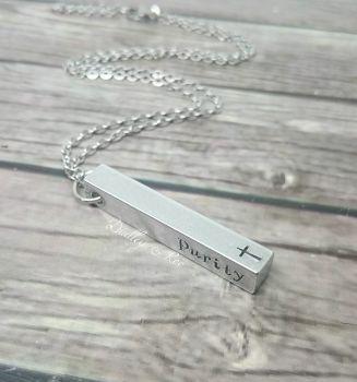 Bar Necklace (3D)