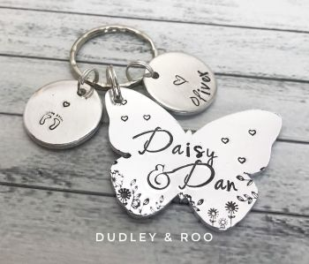 Baby Loss/Memorial Keyring