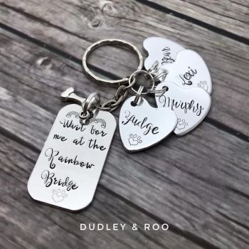 Rainbow Bridge Keyring