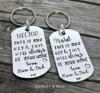 This Is Your Home Keyring
