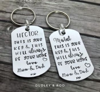 'This Is Your Home' Keyring