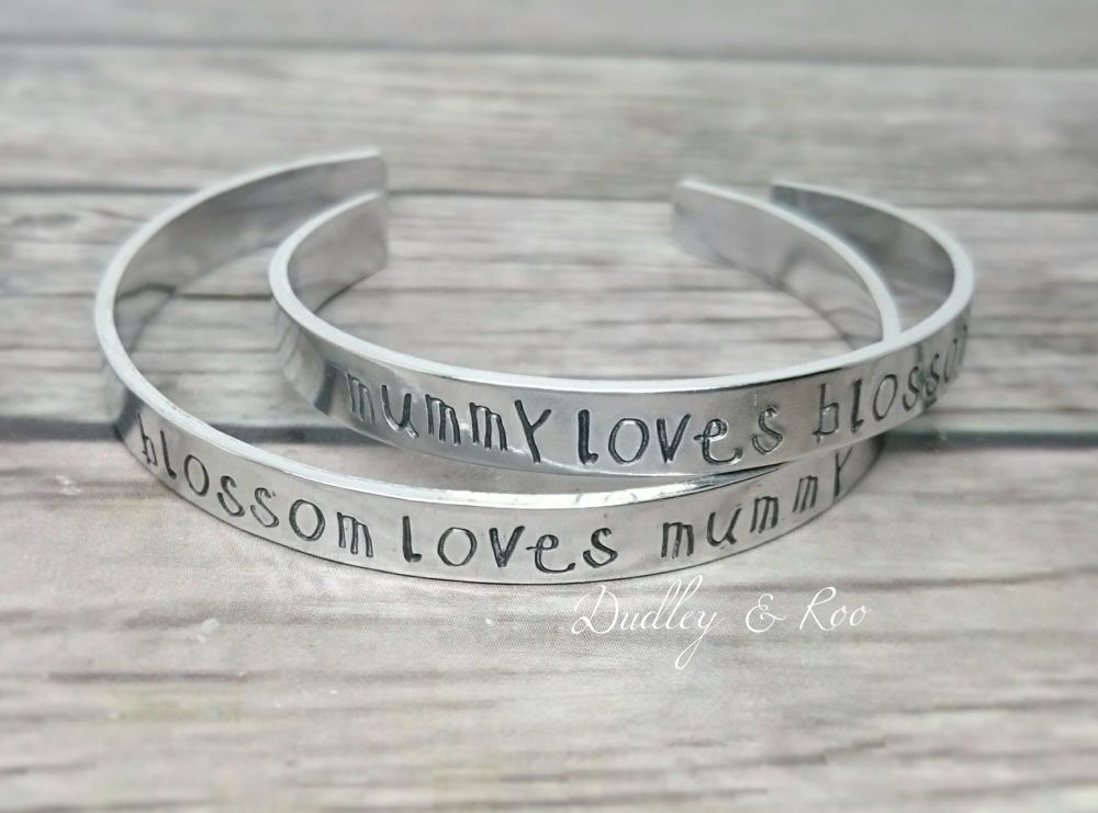 Mummy & Me Cuff Set
