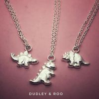 Silver Dinosaur Necklace | Gorgeousaurus Collection