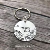 Winging It Keyring
