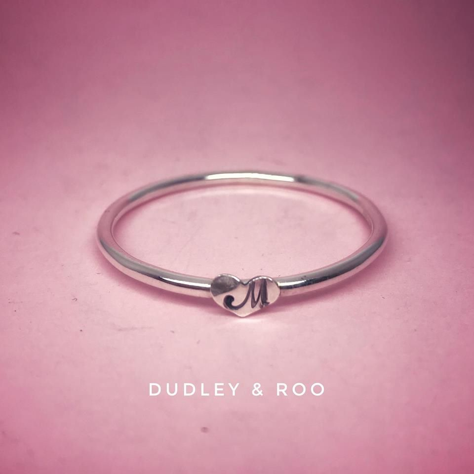 Baby/Toddler Silver Heart Bangle