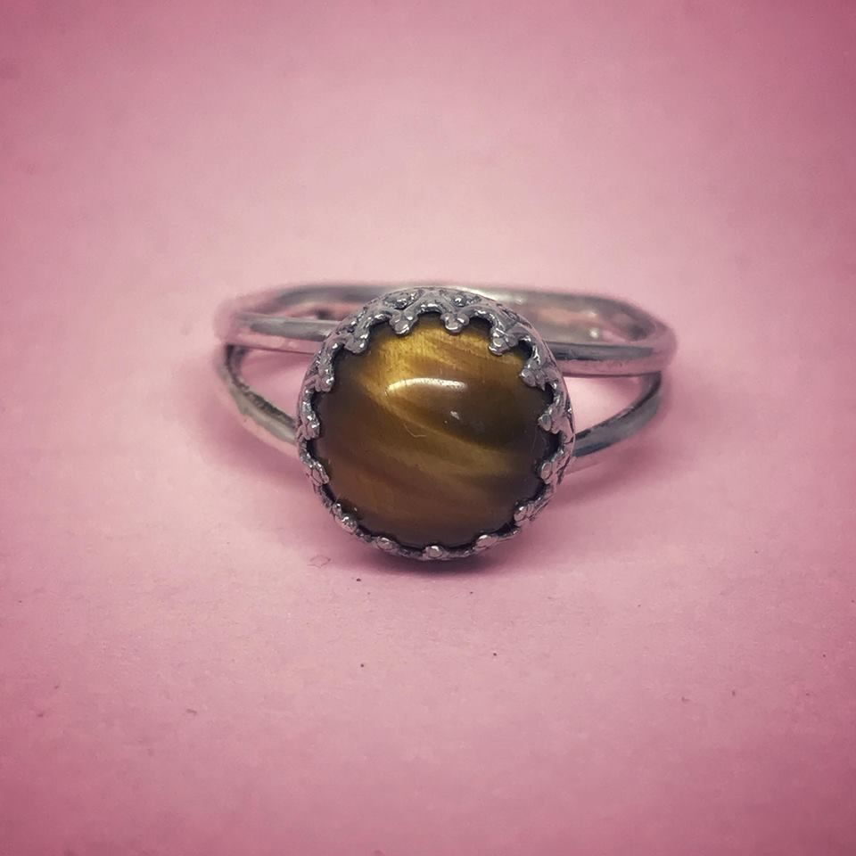 Sterling Silver Warrior Ring