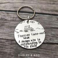 Farmer Keyring