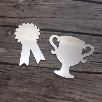 Trophy/Rosette Keyring or Magnet