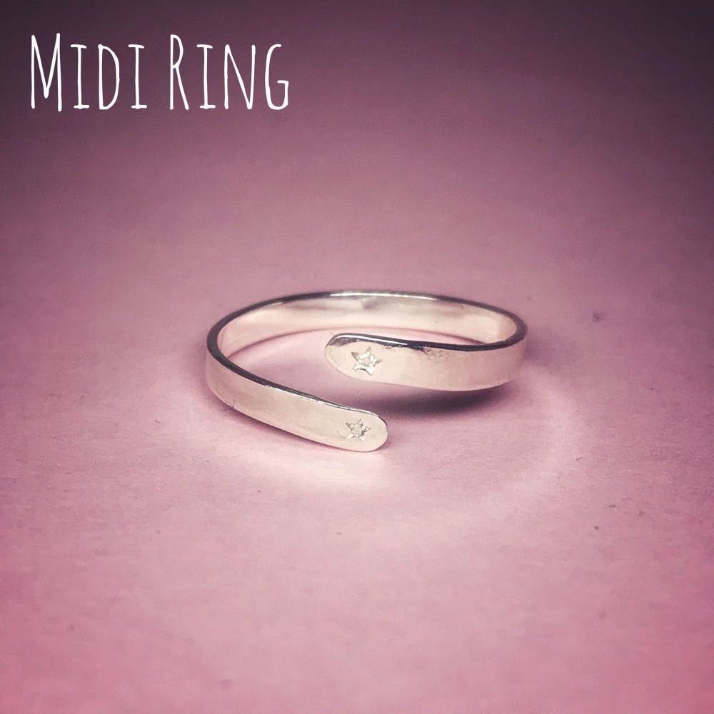 Adjustable Midi Ring