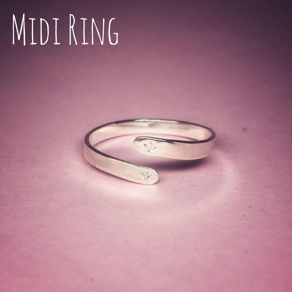 Adjustable Midi Ring