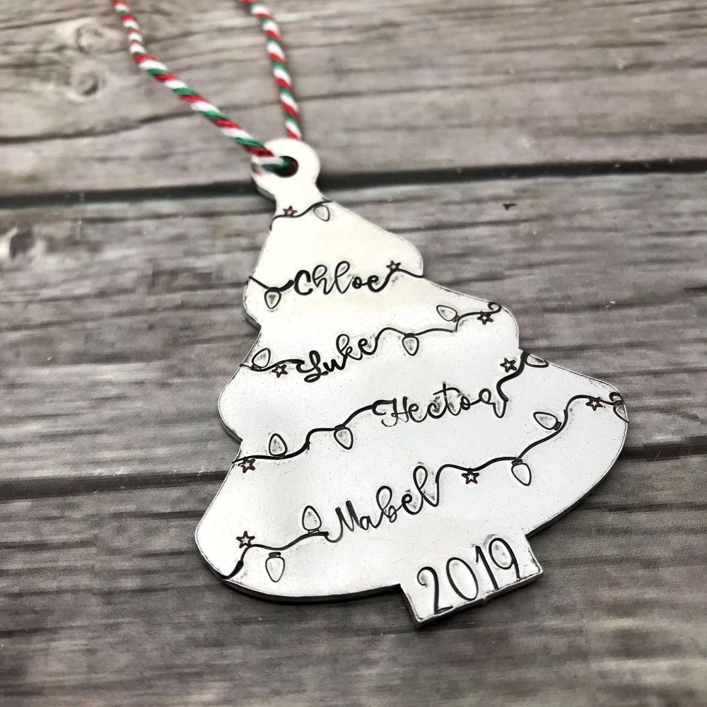 Family Christmas Tree Decoration