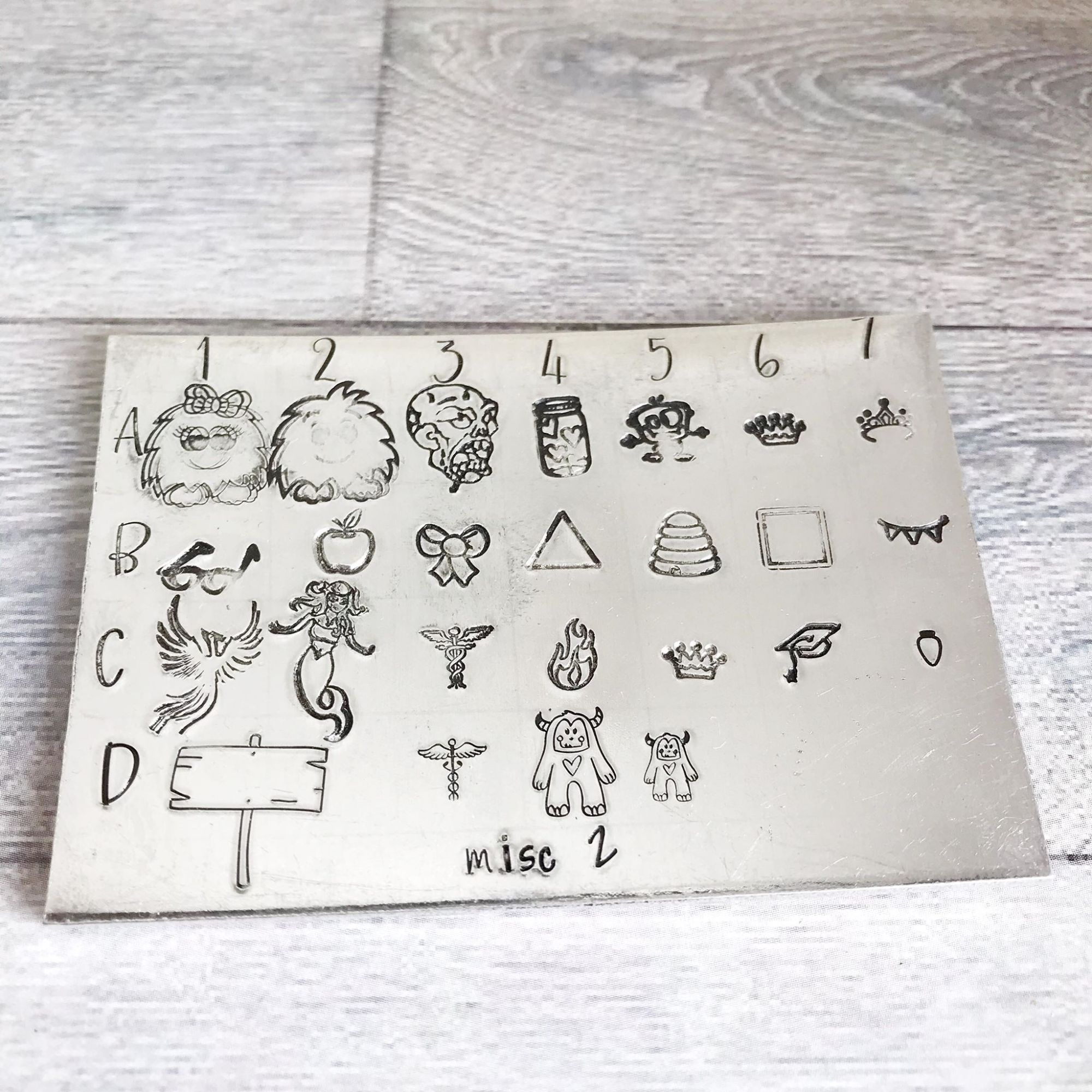 Miscellaneous 2 Design Stamps