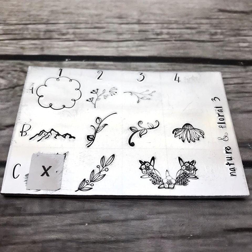 Nature & Floral 3 Design Stamps