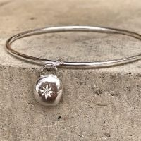 North Star Pebble Bangle | Pebble Collection