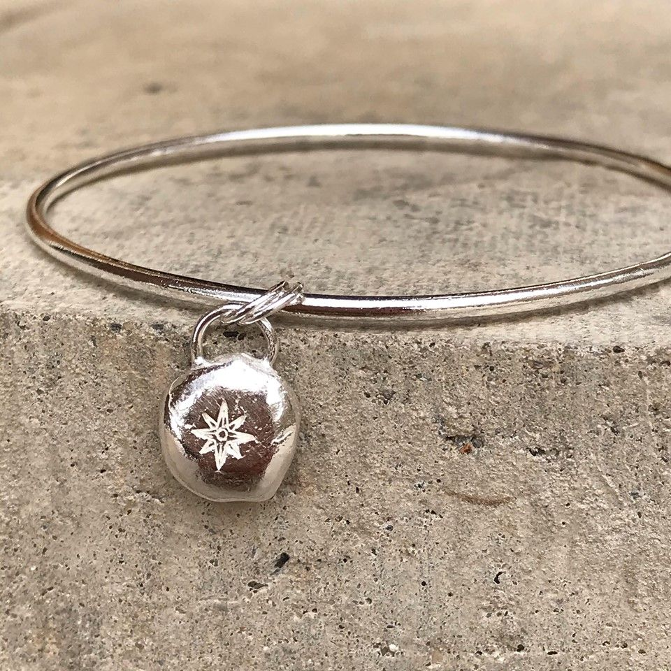 North Star Pebble Bangle