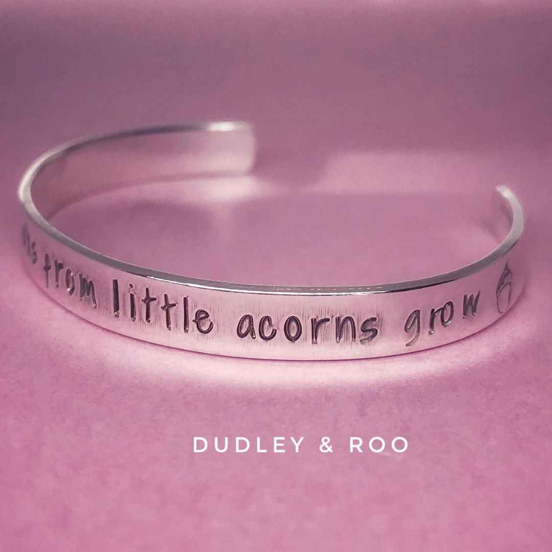 Sterling Silver Cuff - Baby/Infant