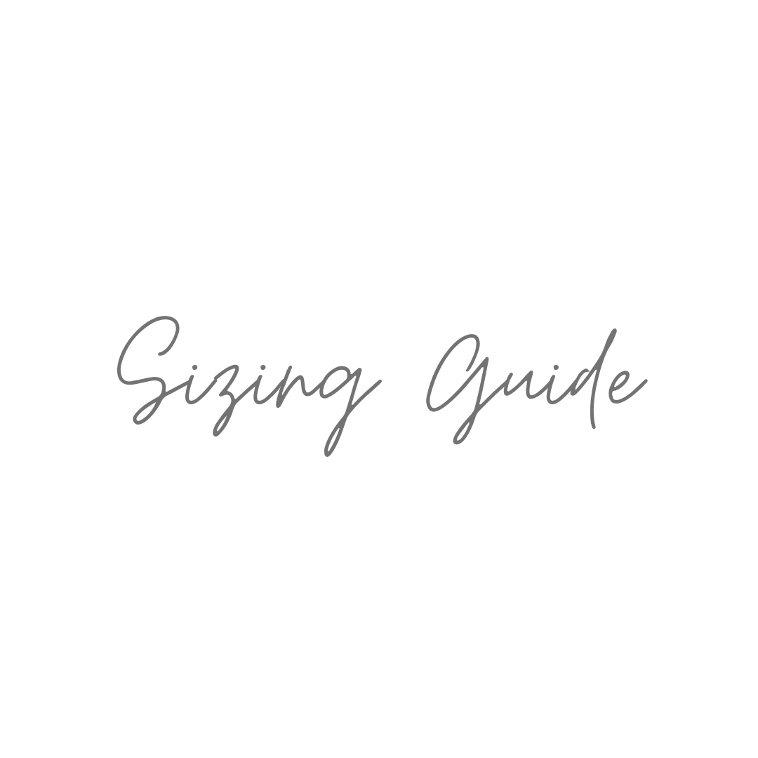 Jewellery Sizing Guide