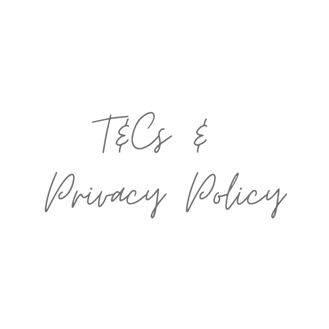 Terms & Conditions and Privacy Policy