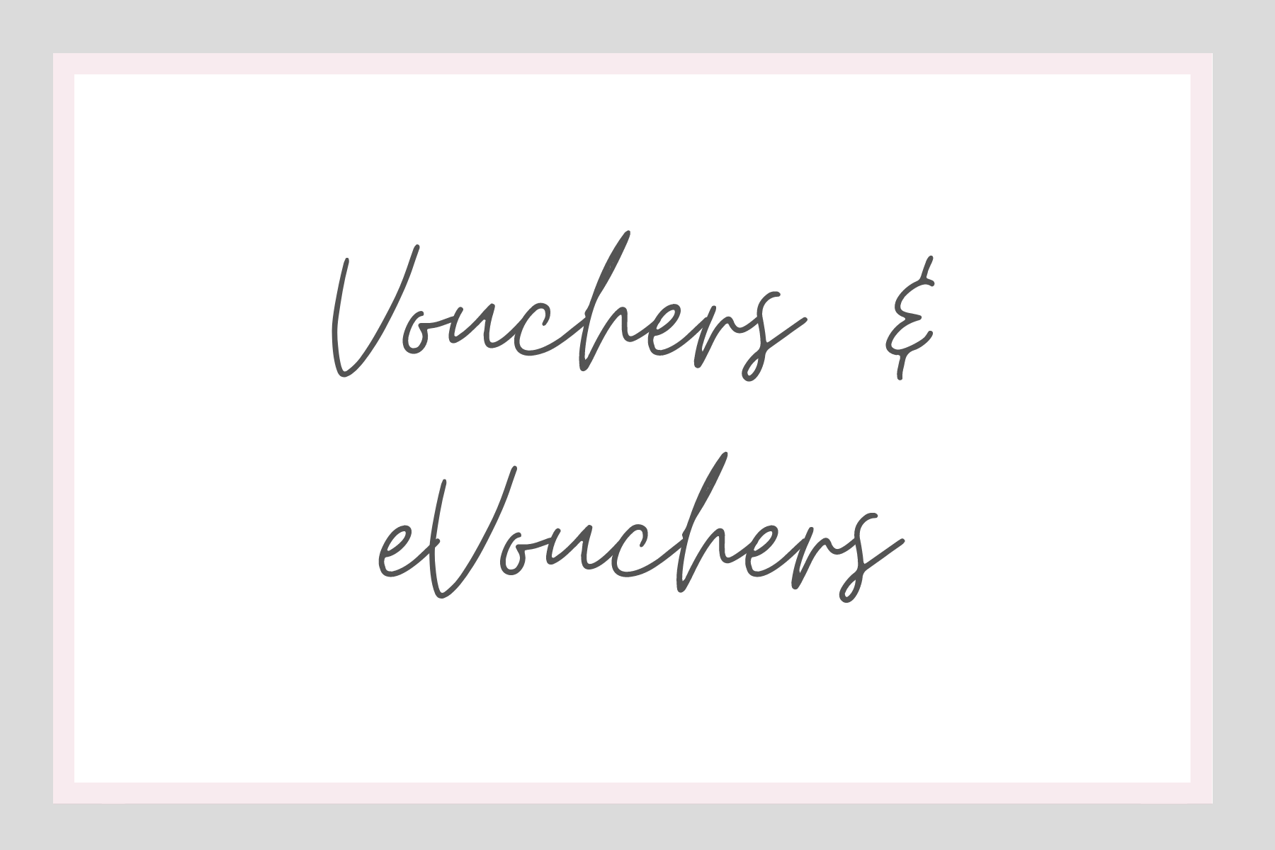 Jewellery Gift Vouchers and eVouchers