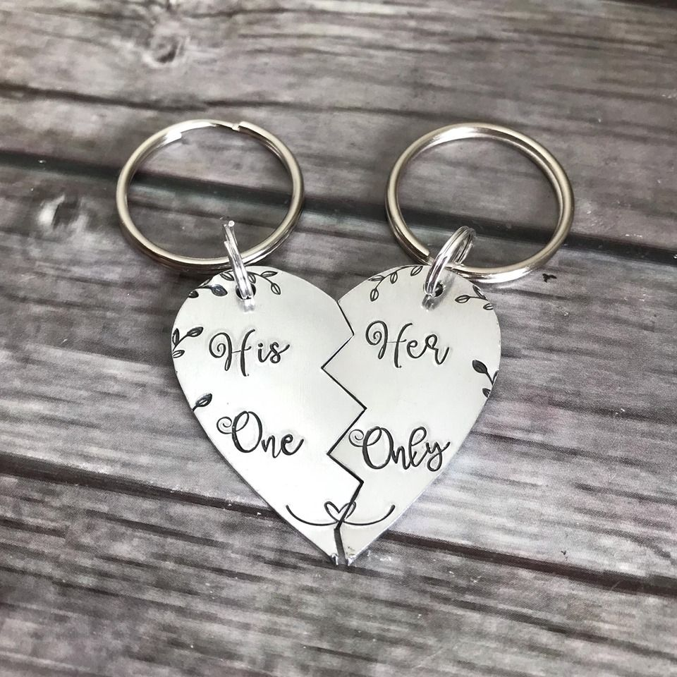 His One, Her Only Keyring