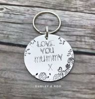 Love You Mummy Keyring