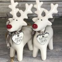 Reindeer Decoration | White