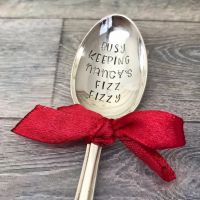 Stamped Vintage Spoon | Keeping The Fizz Fizzy