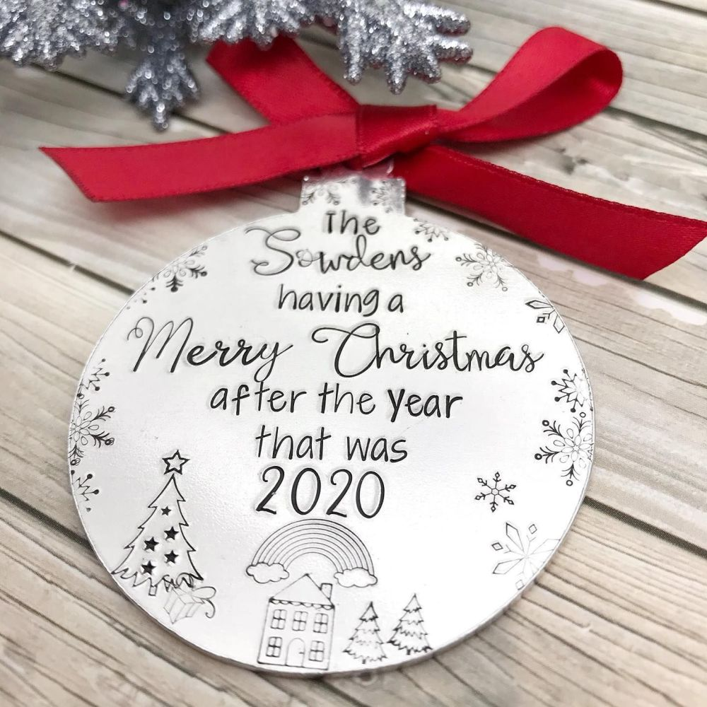 Christmas Lockdown Decoration | 2020