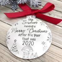 Christmas Lockdown Decoration | 2020